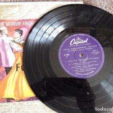 Discos de vinilo: ARTHUR MURRAY FAVORITES / FOX TROTS / CAPITOL / DIFÍCIL. Lote 72115995