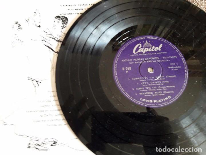 Discos de vinilo: ARTHUR MURRAY FAVORITES / FOX TROTS / CAPITOL / DIFÍCIL - Foto 2 - 72115995