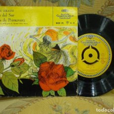 Discos de vinilo: JOHANN STRAUSS: ROSAS DEL SUR-VOCES DE PRIMAVERA. ORQUESTA SINFÓNICA RIAS DE BERLÍN. DIRECTOR........ Lote 72118459