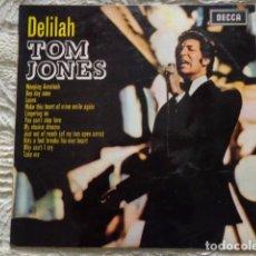 Discos de vinilo: TOM JONES – DELILAH - DECCA - 1968. Lote 72149023
