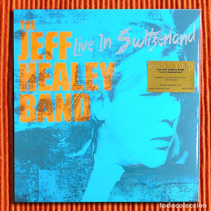 THE JEFF HEALEY BAND - LIVE IN SWITZERLAND 180G 2LP AUDIÓFILO MUSIC ON VINYL PRECINTADO (Música - Discos - LP Vinilo - Jazz, Jazz-Rock, Blues y R&B)