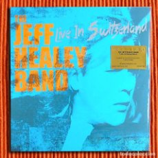 Discos de vinilo: THE JEFF HEALEY BAND - LIVE IN SWITZERLAND 180G 2LP AUDIÓFILO MUSIC ON VINYL PRECINTADO. Lote 72150207