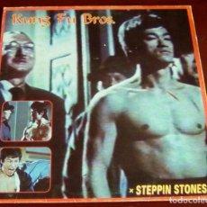 Discos de vinilo: KUNG FU BROS - STEPPIN STONES - MAXI SINGLE.12. Lote 72155043