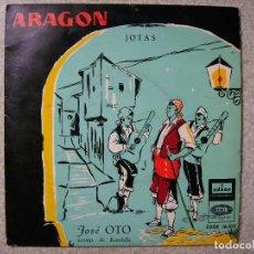 Discos de vinilo: JOSE OTO.LA SAL SE TE VA CAYENDO + 7...JOTAS ARAGON...PEDIDO MINIMO 5€. Lote 72157083