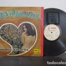 Discos de vinilo: ALFREDITO LINARES SALSA A TODO SABOR BOOGALOO SOUL LATINO GUARACHA GUAGUANCO LP T81 G ESCASO WU. Lote 72167847