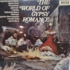 Discos de vinilo: LASZLO TABOR AND HIS ORCHESTRA - THE WORLD OF GYPSY ROMANCE -1971- DECCA SPA 117. Lote 72168211