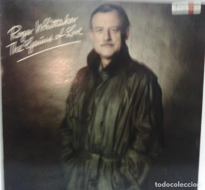 ROGER WHITTAKER - THE GENIUS OF LOVE - 1986 - TEMBO TMB 108 (Música - Discos - LP Vinilo - Cantautores Extranjeros)
