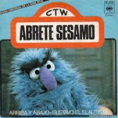 Discos de vinilo: ABRETE SESAMO, SG, ARRIBA Y ABAJO + 1, AÑO 1976. Lote 72194743