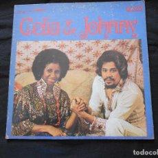 Discos de vinilo: CELIA & JOHNNY // EDICION AMERICANA // DOBLE PORTADA. Lote 72209643