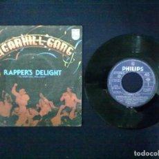 Discos de vinilo: SUGARHILL GANG RAPPER'S DELIGHT. Lote 72215771