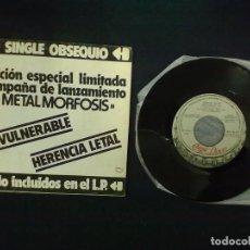 Discos de vinilo: BARON ROJO INVULNERABLE HERENCIA LETAL. Lote 72219163