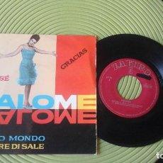 Discos de vinilo: SALOME - YO SÉ / GRACIAS / SAPORE DI SALE / MI MUNDO EP ZAFIRO Z-E 511. Lote 72223899
