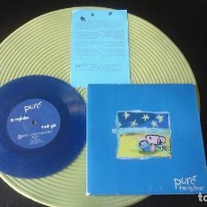 Discos de vinilo: PURE - TANTO PEOR - GEROME NANA 1999 VINILO COLOREADO ELEFANT RECORDS. Lote 72225567