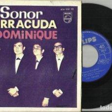 Discos de vinilo: LOS SONOR EP DOMINIQUE + 3.1964.ESCUCHADO.SOLO VINILO CON CARPETA FOTOCOPIADA. Lote 72227655