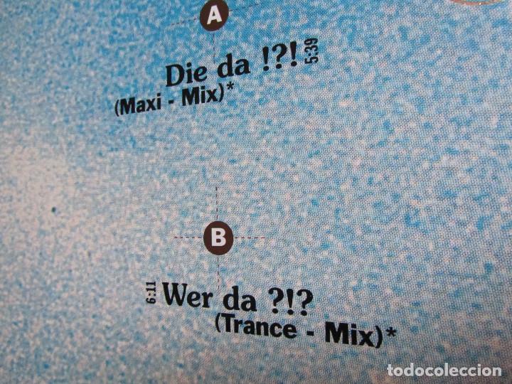 Discos de vinilo: DIE FANTASTISCHEN VIER- MAXI-SINGLE DE VINILO- TITULO DIE-DA?- CON 2 TEMAS- ORIGINAL DEL 92-NUEVO - Foto 3 - 72232887
