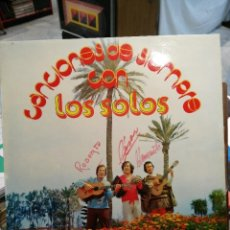 Discos de vinilo: LOS SOLOS - CANCIONES DE SIEMPRE - LP.. Lote 72252315