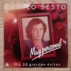 Discos de vinilo: DISCO DE VINILO CAMILO SESTO. Lote 72256355
