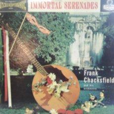 Discos de vinilo: FRANK CHACKSFIELD AND HIS ORCHESTRA - IMMORTAL SERENADES - LONDON PS 122. Lote 72261067