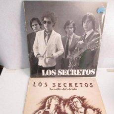 Discos de vinilo: LOS SECRETOS. DOS DISCOS VINILO. LA CALLE DEL OLVIDO. VER FOTOGRAFIAS ADJUNTAS. Lote 130141630