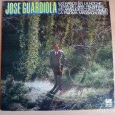 Discos de vinilo: JOSE GUARDIOLA - LP. Lote 95322527