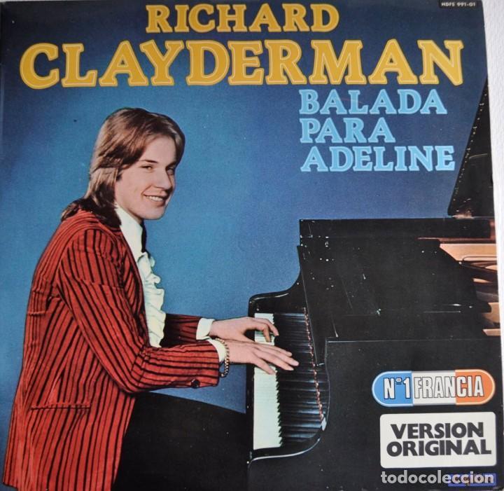 LP RICHARD CLAYDERMAN (Música - Discos - LP Vinilo - Clásica, Ópera, Zarzuela y Marchas)