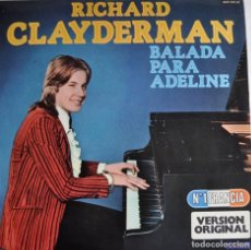 Discos de vinilo: LP RICHARD CLAYDERMAN. Lote 72279779