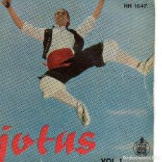 Discos de vinilo: FOLKLORE ARAGONÉS ENCARNITA RODRÍGUEZ EP 1959. Lote 72283583