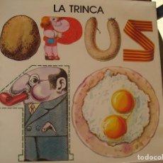 Discos de vinilo: LA TRINCA. OPUS 10.. Lote 72285575