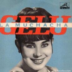Discos de vinilo: GELU, EP, LA MUCHACHA + 3, AÑO 19?? FABRICADO EM PORTUGAL. Lote 72287159