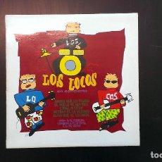 Discos de vinilo: LP LOS LOCOS EN CONCIERTO ASTURIAS GRUPOS ASTURIANOS. Lote 72288215