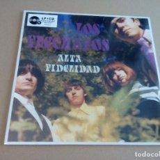 Discos de vinilo: LOS FLECHAZOS - ALTA FIDELIDAD (LP + CD EDICIÓN LIMITADA 2016, ELEPHAN ER25-010LP) NUEVO. Lote 72294543