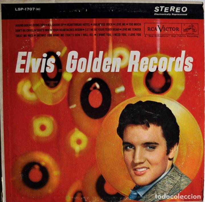 ELVIS'GOLDEN RECORDS (Música - Discos - LP Vinilo - Rock & Roll)