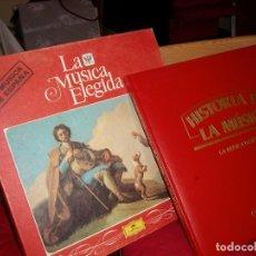 Discos de vinilo: LA MÚSICA ELEGIDA. Lote 72302167