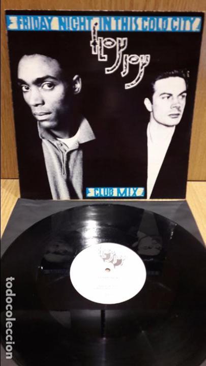 FLOY JOY. FRIDAY NIGHT IN THIS COLD CITY. MAXI SG / VIRGIN - 1986 / MBC. ***/*** (Música - Discos de Vinilo - Maxi Singles - Electrónica, Avantgarde y Experimental)