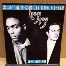 Discos de vinilo: FLOY JOY. FRIDAY NIGHT IN THIS COLD CITY. MAXI SG / VIRGIN - 1986 / MBC. ***/***. Lote 72320571