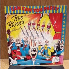 Discos de vinilo: JIVE BUNNY AND THE MASTERMIXERS. CAN CAN YOU PARTY. MAXI SG / BCM RECORDS / MBC. ***/***. Lote 72322491