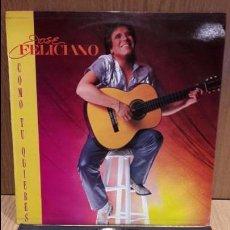 Discos de vinilo: JOSÉ FELICIANO. COMO TU QUIERES. LP / RCA-VICTOR - 1984 / MBC. ***/***. Lote 72323719