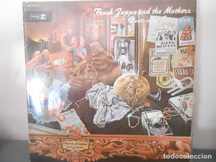 FRANK ZAPPA AND THE MOTHERS - OVER - NITE SENSATION (Música - Discos - LP Vinilo - Pop - Rock - Extranjero de los 70)