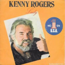 Disques de vinyle: KENNY ROGERS - LADY / SWEET MUSIC MAN - LIBERTY RECORDS - 1980. Lote 72326151