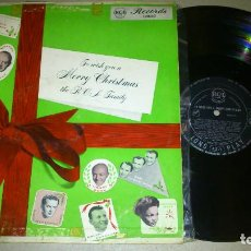 Discos de vinilo: TO WISH YOU A MERRY CHRISTMAS. THE RCA FAMILY. 1954. Lote 72330663