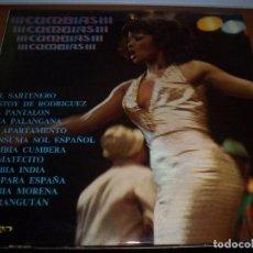 Discos de vinilo: LP CUMBIAS, VARIOS ARTISTAS. EDICION OLYMPO DE 1974. NUEVO.. Lote 72356527