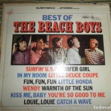 Discos de vinilo: THE BEACH BOYS - THE BEST OF LP - EDICION U.S.A. - CAPITOL STARLINE 1967 . !!!DUOPHONIC!!! STEREO. Lote 72372875