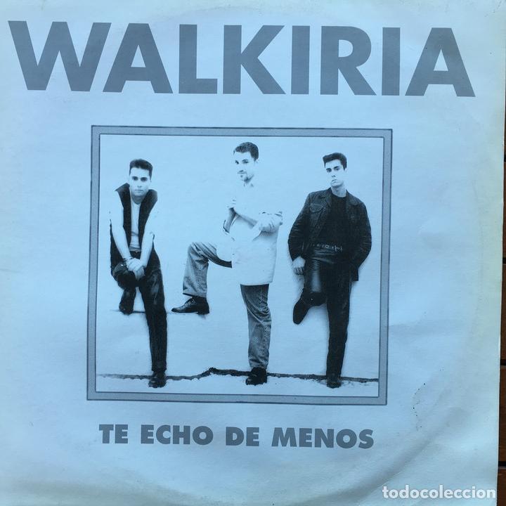 WALKIRIA - TE ECHO DE MENOS . 1994 OEM (Música - Discos de Vinilo - Maxi Singles - Grupos Españoles de los 90 a la actualidad)
