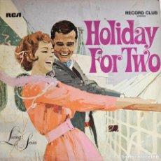 Discos de vinilo: LP HOLIDAY FOR TWO. SELLO RCA. Lote 72382431