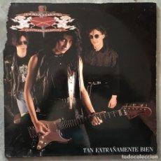 Discos de vinilo: CORAZONES ESTRANGULADOS - TAN EXTRAÑAMENTE BIEN . 1992 PROD TWINS. Lote 72386915