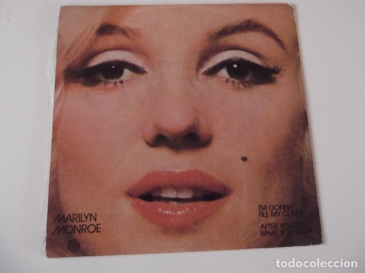 Discos de vinilo: MARILYN MONROE - I'm gonna file my claim - Foto 2 - 72392011