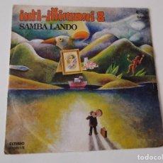 Discos de vinilo: INTI-ILLIMANI - SAMBA LANDO. Lote 72394515