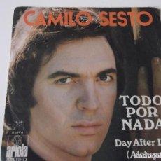 Discos de vinilo: CAMILO SESTO - TODO POR NADA. Lote 72399727