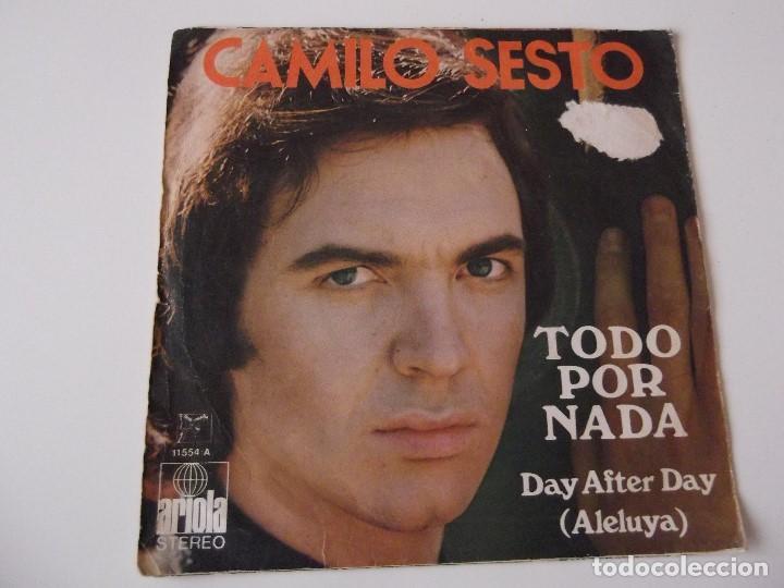 Discos de vinilo: CAMILO SESTO - Todo por nada - Foto 2 - 72399727