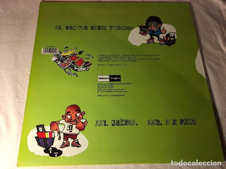 Discos de vinilo: DISCO MAXI SINGLE MC CHULO DJ GUARRO QUE PASA CONTIGO TIO BLANCO Y NEGRO - Foto 3 - 72408843
